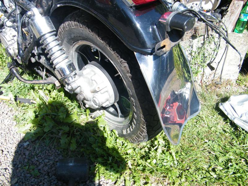Chlapacz fartuch Kawasaki Vulcan VN 750