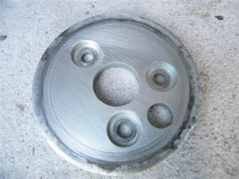 Podstawa filtra oleju Kawasaki Vulcan VN 750 filtr