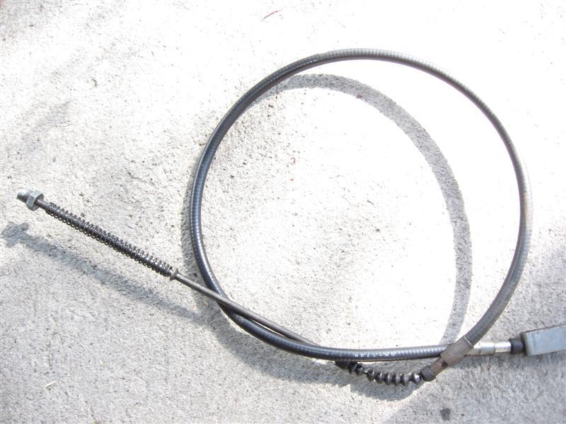 Linka hamulca nożnego Kawasaki LTD454