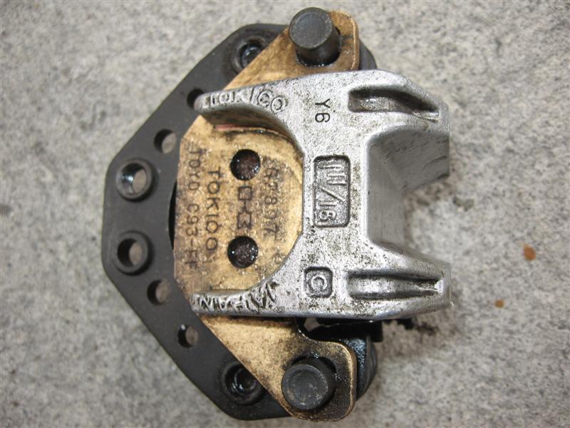 Zacisk hamulcowy hamulec Kawasaki LTD 454