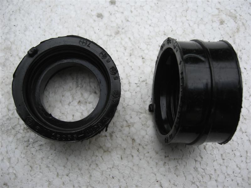 Gumowy łącznik gaźnika Kawasaki LTD454