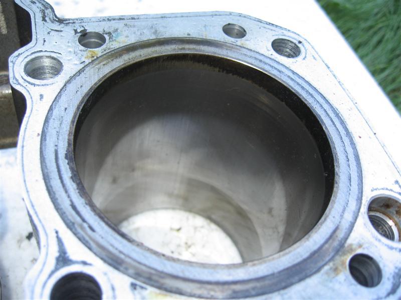 Cylinder cylindry tłok tłoki Kawasaki LTD454