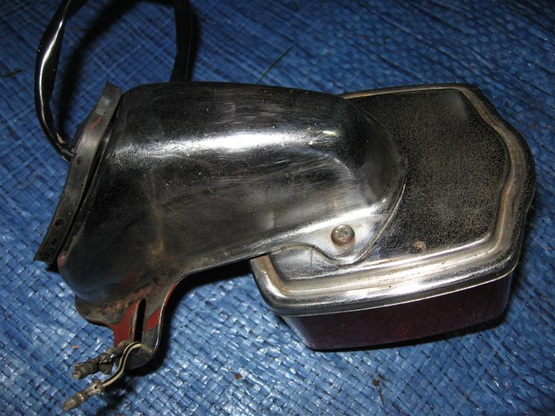 Lampa tylna tył Suzuki GT 80