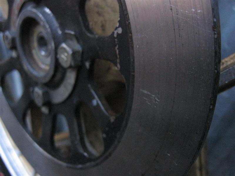 Koło przednie felga + opona 2,50 / 19 Suzuki GT 80  Opcje Koło