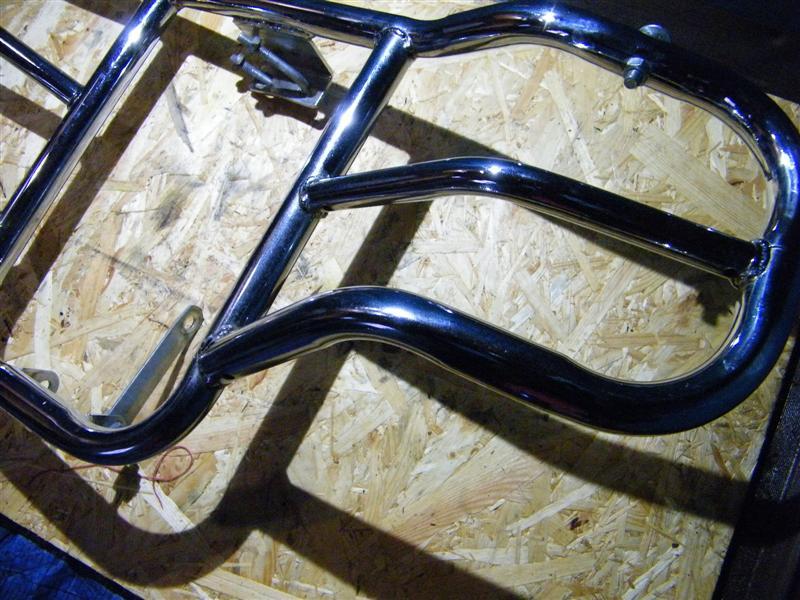 Gmole gmol przedni orurowanie Suzuki 125 Marauder