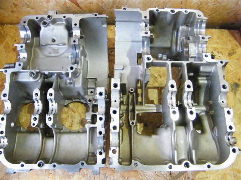 Obudowa silnika karter korpus blok Kawasaki EN 500