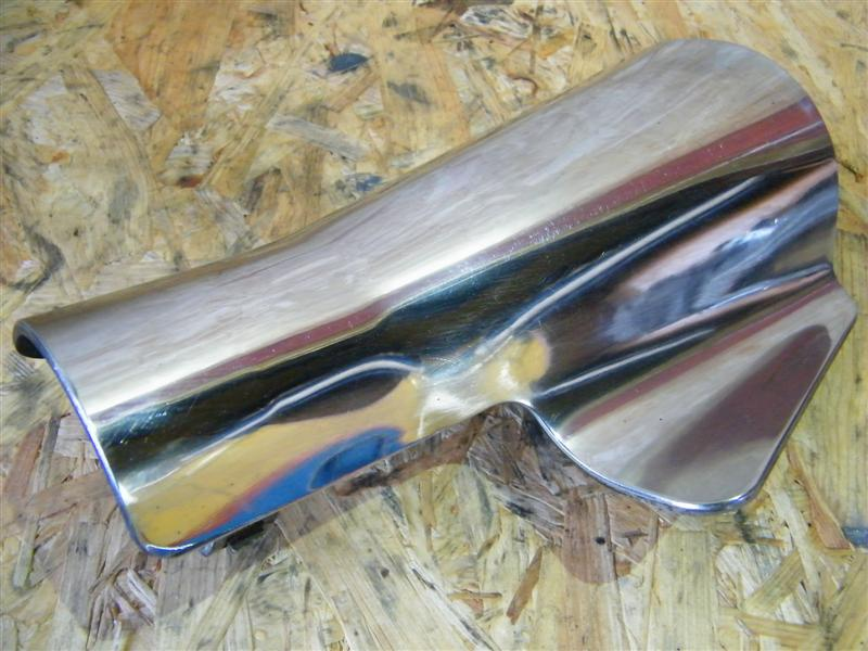 Osłona tłumika chrom Suzuki LS 650 Savage