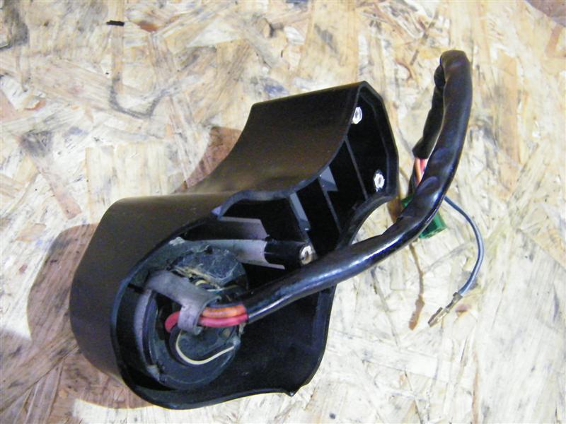 Stacyjka + konsola kontrolek Suzuki GT 80