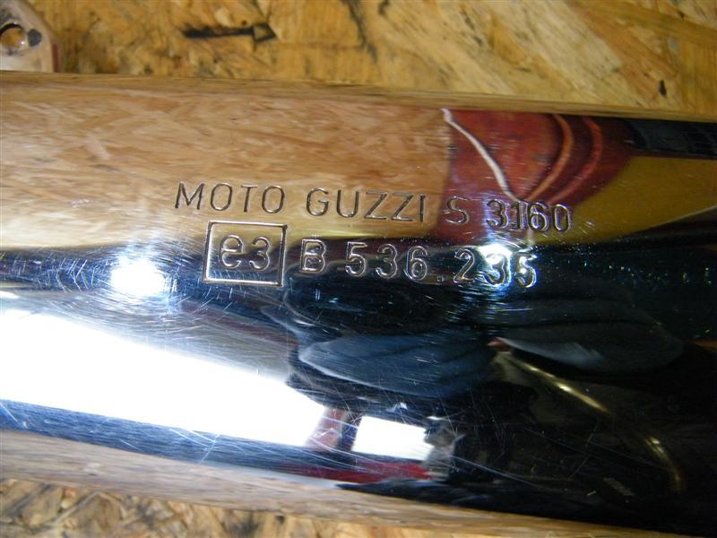 Tłumik wydech lewy Moto Guzzi 750 Nevada
