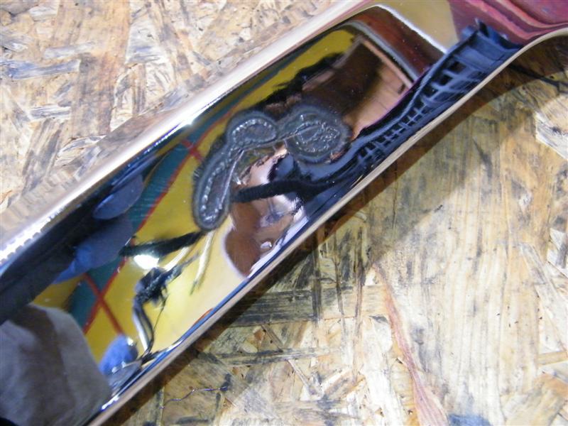 Reling błotnika prawy tył Moto Guzzi 750 Nevada