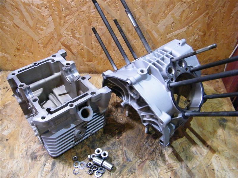 Blok silnika karter obudowa Moto Guzzi 750 Nevada