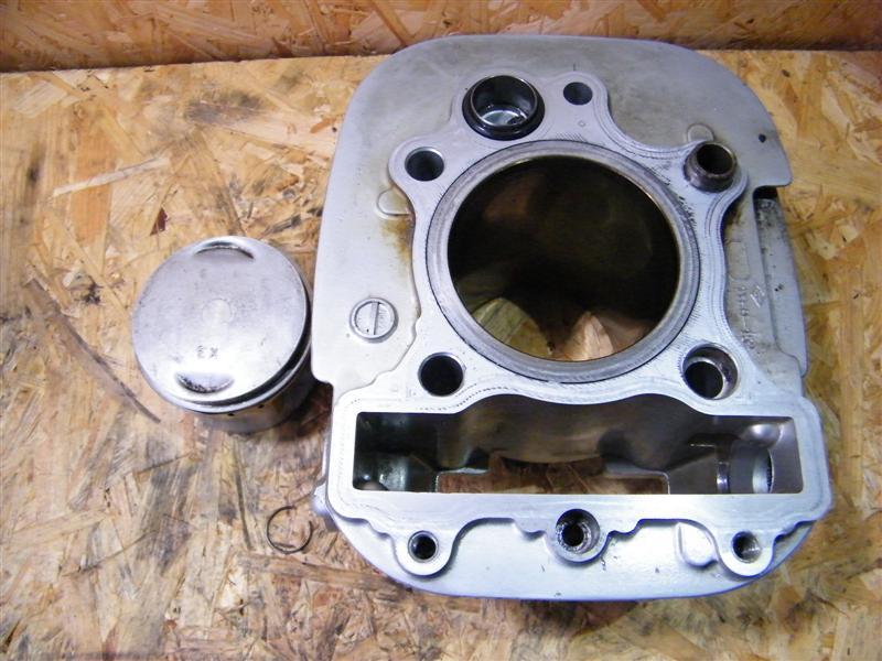 Cylinder tłok sworzeń przód Yamaha XV 535 Virago